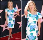 Reese Witherspoon In Draper James @  Eva Longoria's Star On The Hollywood Walk Of Fame Unveiling