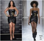 Rihanna in Versace @ Fenty Beauty Milan Launch Event