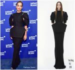 Rita Ora In Vera Wang  @ Montblanc Meisterstuck Le Petit Prince Event