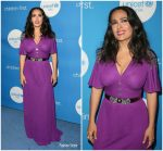 Salma Hayek In Gucci   @  7th Biennial UNICEF Ball in Beverly Hills