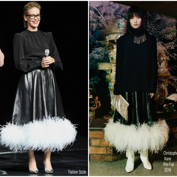 sarah-paulson-in-christopher-kane-the-house-with-a clock-in-its-walls-cinemacon-presentation