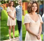 Selena Gomez In Miu Miu @ 'Hotel Transylvania 3: Summer Vacation' LA Photocall