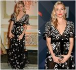Sienna Miller In Valentino  @ Formula E Cocktail  Gala Dinner