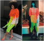 Tracee Ellis Ross In Christopher Kane  @ The Late Late Show with James Corden