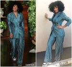 Tracee Ellis Ross In Self-Portrait  @ The Ellen DeGeneres Show