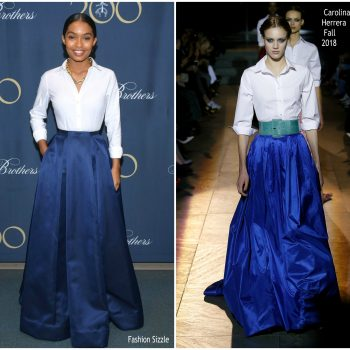 yara-shahidi-in-carolina-herrera-brooks-brothers-bicentennial-celebration