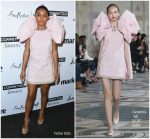 Yara Shahidi in Giambattista Valli  Couture @ Marie Claire's 2018 'Fresh Faces' Party