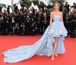 Josephine Skriver  In  Giambattista Valli Couture @ 'Sorry Angel (Plaire, Aimer Et Courir Vite)' Cannes Film Festival Premiere