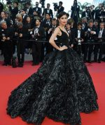 Praya Lundberg In Michael Cinco Couture  @ 'Ash Is The Purest White (Jiang Hu Er Nv) Cannes Film Festival Premiere