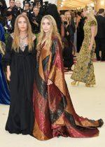 Ashley Olsen  In Paco Rabanne & Mary-Kate Olsen In The Row @ 2018 Met Gala