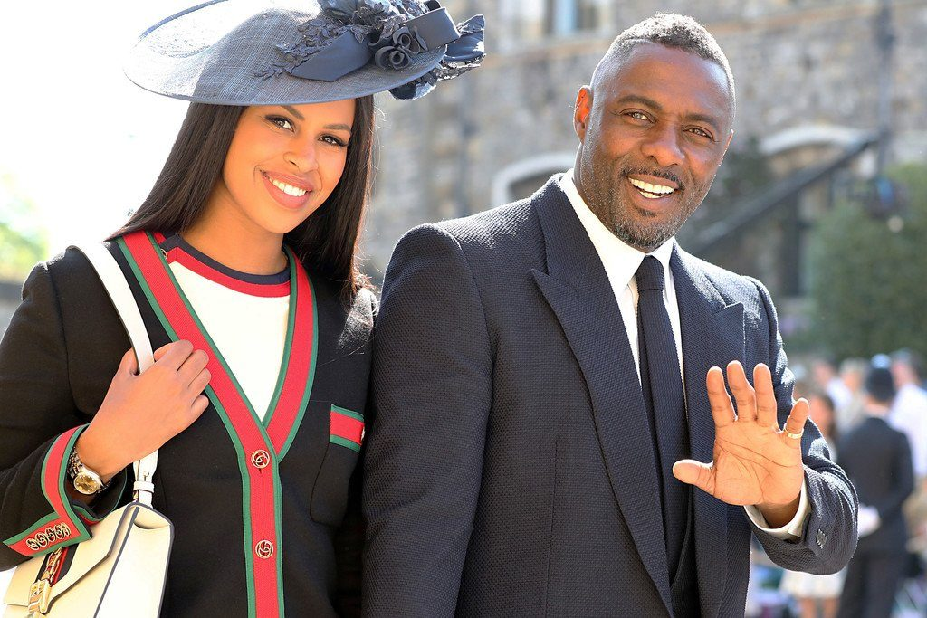 fb966ea31 Idris Elba In Givenchy & Sabrina Dhowre In Gucci @ Prince Harry ...