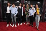 BTS all wearing Gucci @ 2018 Billboard Music Awards
