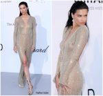 Adriana Lima  In Julien Macdonald  @ AmfAR Gala Cannes 2018