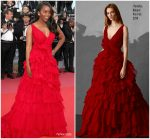 Aja Naomi King In Pamella Roland  @ 'Ash Is The Purest White (Jiang Hu Er Nv) Cannes Film Festival Premiere