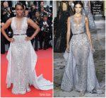 Aja Naomi King In Zuhair Murad Couture  @ 'Sorry Angel (Plaire, Aimer Et Courir Vite)' Cannes Film Festival Premiere