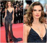 Alessandra Ambrosio  In Roberto Cavalli Couture  @ 'Solo: A Star Wars Story' Cannes Film Festival Premiere