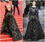 Alessandra Ambrosio  In Zuhair Murad Couture  @  'Blackkklansman' Cannes Film Festival Premiere