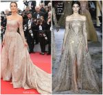 "Alessandra Ambrosio  In Zuhair Murad  Couture  @ "" The Wild Pear Tree "" Cannes Film Festival Premiere"