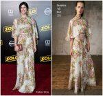 Alexandra Daddario In Giambattista Valli @'SOLO: A Star Wars Story' LA Premiere