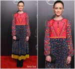 Alexis Bledel in Red Valentino @ the 77th Annual Peabody Awards