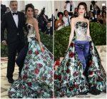 Amal Clooney In Richard Quinn @  2018 Met Gala