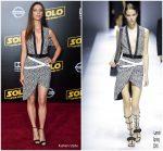 Angela Sarafyan In Lanvin  @  'SOLO: A Star Wars Story' LA Premiere