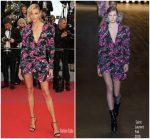 Anja Rubik In Saint Laurent @ Sink Or Swim (Le Grand Bain)' Cannes Film Festival Premiere