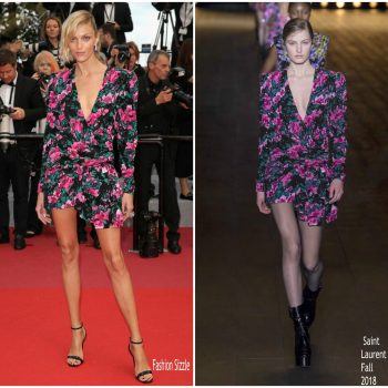 anja-rubix-in-saint-laurent-sink-or-swim-le-grand-bain-cannes-film-festival-premiere
