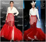 Araya A. Hargate In Jean Paul Gaultier Haute Couture  @ Chopard Trophée