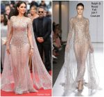 Araya A. Hargate In Ralph & Russo Couture  @ 'Sorry Angel (Plaire, Aimer Et Courir Vite)' Cannes Film Festival Premiere