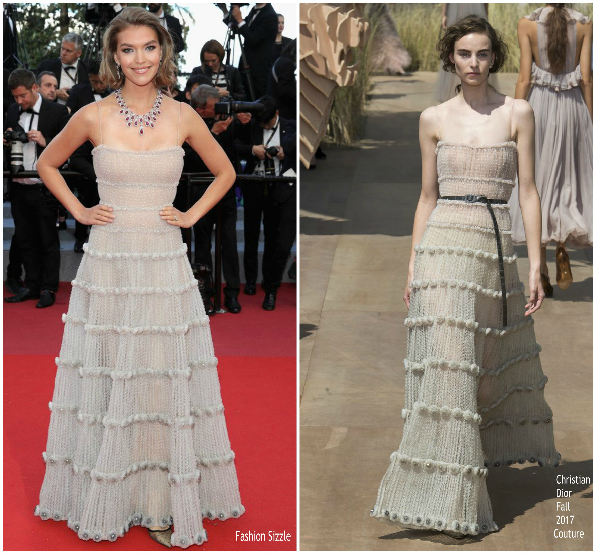 arizona-muse-in-christian-dior-couture0sink-or-swim-le-grand-bain-cannes-film-festival-premiere