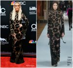 Ashlee Simpson Ross  In Yanina Couture  @ 2018 Billboard Music Awards