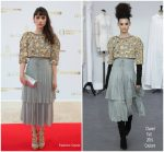 Àstrid Bergès-Frisbey  In Chanel Couture  @ Positive Planet Gala  Cannes Dinner 2018