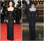 "Aymeline Valade  In Saint Laurent  @ ""Burning "" Cannes Film Festival Premiere"