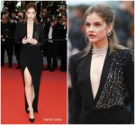 "Barbara Palvin  In Alberta Ferretti ​ In  ""Burning "" Cannes Film Festival Premiere"