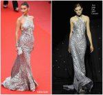 Bella Hadid  In Elie Saab Haute Couture  @ 'Blackkklansman' Cannes Film Festival Premiere