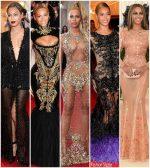 Beyonce Knowles Met Gala Looks Over The Years