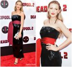 Blake Lively In Brandon Maxwell  @ 'Deadpool 2' New York Screening
