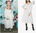 Bria Vinaite in Sandy Liang   @ Tiffany & Co. Paper Flowers Event And Believe In Dreams Campaign Launch