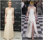 Carey Mulligan In Christian Dior Couture  @ 'Wildlife' Cannes Film Festival Screening