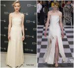 Carey Mulligan In Christian Dior Couture  @ 'Wildlife' Cannes Film Festival Screening