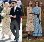 Carey Mulligan In Erdem  @ Prince Harry & Meghan Markle's Royal Wedding