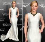 Cate Blanchett In Armani Prive  @ Chopard Trophée