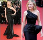 Cate Blanchett In  Armani Privé  @ Jurors Protest At The 'Girls Of The Sun (Les Filles Du Soleil)' Cannes Film Festival Premiere
