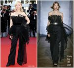 Cate Blanchett In Givenchy Haute Couture  @  'Capharnaum' Cannes Film Festival Premiere