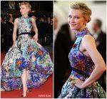Cate Blanchett In Mary Katrantzou  @ 'Cold War (Zimna Wojna)' Cannes Film Festival Premiere