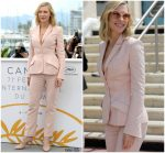 Cate Blanchett In Stella McCartney  @  2018 Cannes Film Festival Jury Photocall