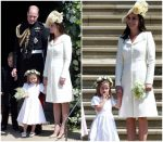 Catherine, Duchess of Cambridge In Alexander McQueen  @ Prince Harry &  Meghan Markle's Royal Wedding