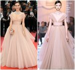 Celina Jade   In Christian Dior  Couture @ 'Sorry Angel (Plaire, Aimer Et Courir Vite)' Cannes Film Festival