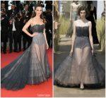 Charlotte Le Bon  In Christian Dior Couture  @ 'BlacKkKlansman'  Cannes Film Festival Premiere